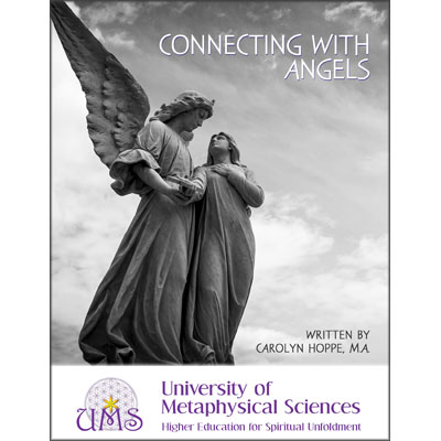 image book Connecting with Angels by Carolyn Hoppe M.A.