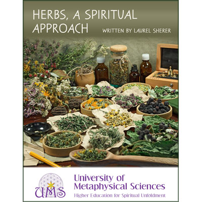 image Herbs: A Spiritual Approach by Laurel Sherer