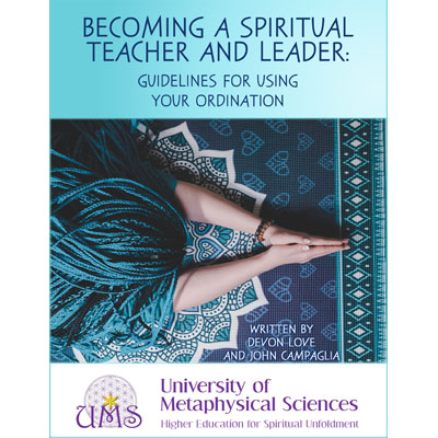 image Buy Book Becoming a Spiritual Teacher - University of Metaphysical Sciences - Metaphysical Sciences Degree