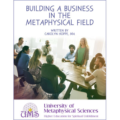 image Building Metaphysical Business by Carolyn Hoppe MA - Metaphysical Sciences Degree