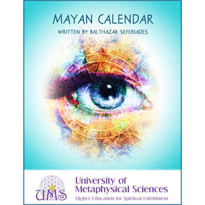 image Buy book - Learn About Mayan Calendar - Balthazar Seferiades - Metaphysical Sciences Degree