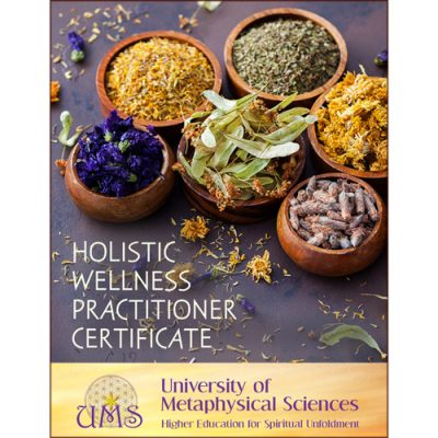 image Earn Holistic Wellness Practitioner Certificate - Metaphysical Sciences Degree