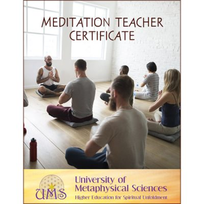 image Earn Meditation Teacher Certificate - Metaphysical Sciences Degree